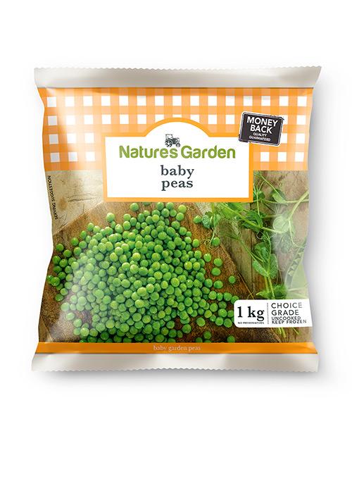 Baby Garden Peas