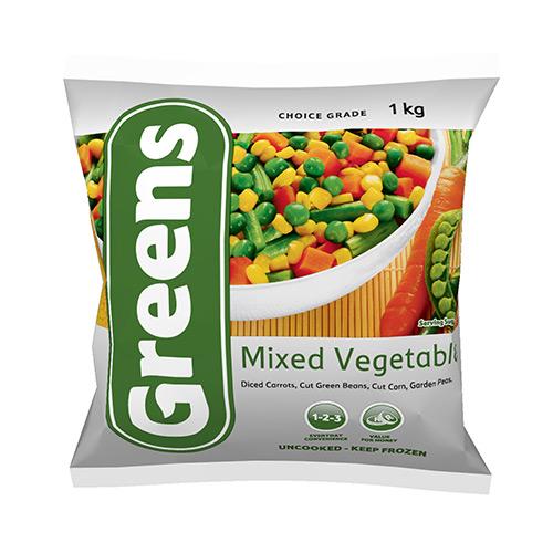 Greens Mixed Vegetables