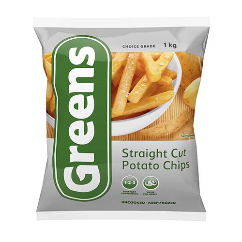 Greens Straight Cut Potato Chips