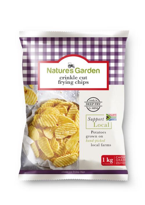 Crinkle Cut Frying Chips