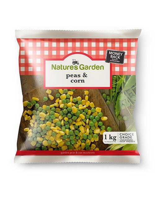 Garden Peas & Corn