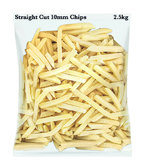 Straight Cut 10mm Chips