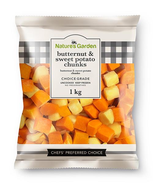Butternut & Sweet Potato Chunks