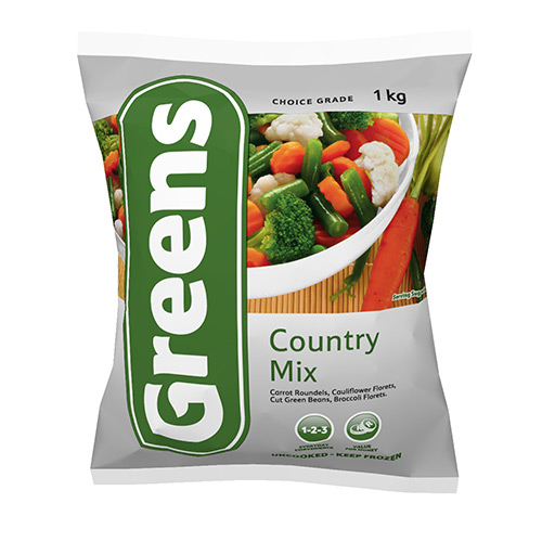 Greens Country Mix