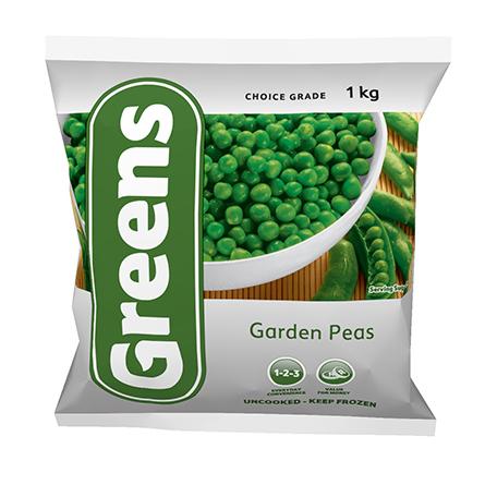 Greens Garden Peas